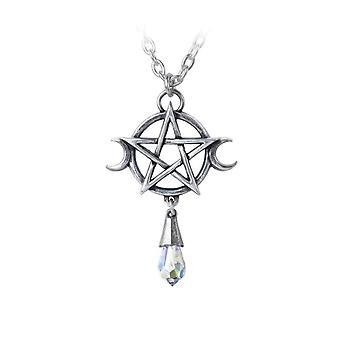 Alchemy Goddess Pewter Pendant