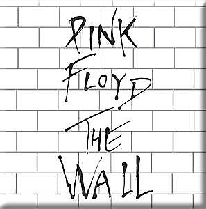 Pink Floyd The Wall steel fridge magnet