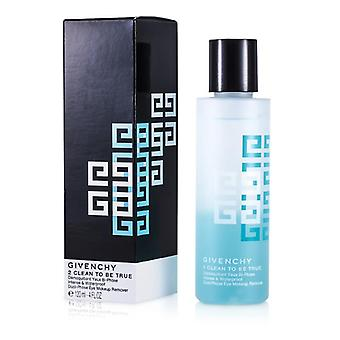 Givenchy 2 Clean To Be True Intense & Waterproof Dual-Phase Eye Makeup Remover - 120ml/4oz