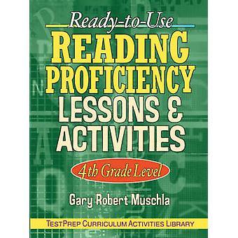 Competencia de lectura ReadyToUse lecciones actividades 4 º grado por Muschla y Gary Robert