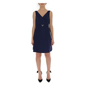 Valentino Blue Cotton Dress