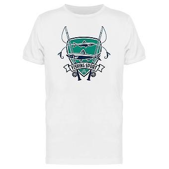 Angeln Sport Zeichen T-Shirt Herren-Bild von Shutterstock