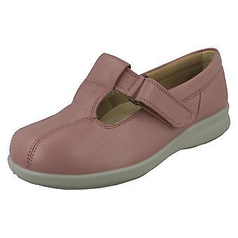 Ladies Easy B Strap Shoes Rowena