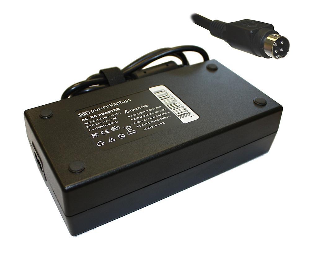 Compatible ordinateur portable Medion MD40737 AC adaptateur chargeur