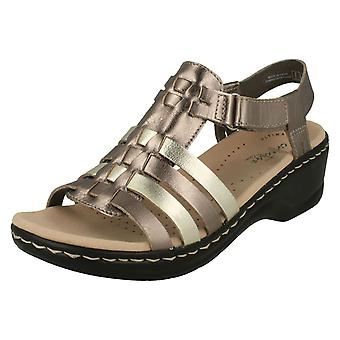 Ladies Clarks Gladiator stil sandaler Lexi Bridge