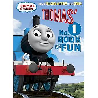 Thomas' No.1 Book of Fun (Thomas & Friends) by Golden Books - 9781524
