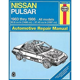 Nissan Pulsar 1983-86 1488cc and 1599cc Owner's Workshop Manual by A.