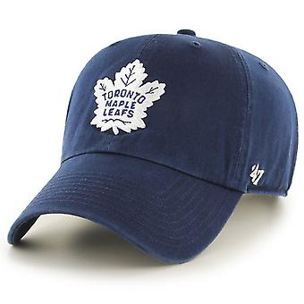 47 ogień regulowane Cap - CLEAN UP Toronto Maple Leafs navy