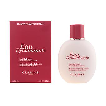 Clarins Eau Dynamisante Lait Hydratant 250ml New Womens Sealed Boxed