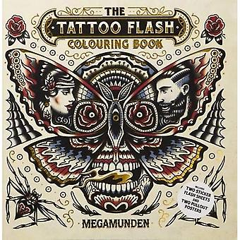 Tattoo Flash Colouring Book