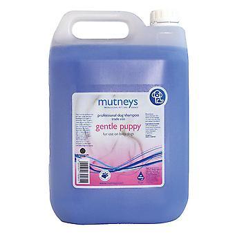 Mutneys blid hvalp allergivenlige Shampoo 5L