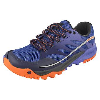 Ladies Merrell Lace up trenere alle ut charge