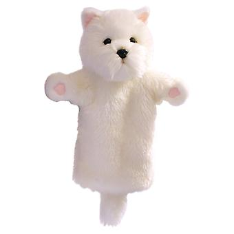 Hand Puppet - Long-Sleeved Glove - West Highland White Terrier PC006055