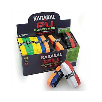 Karakal PU Super Duo Non Slip Tacky SRF Replacement Racket Grip - Box of 24