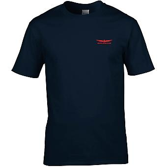 Honda Goldwing Embroidered Logo - Cotton Premium T-Shirt