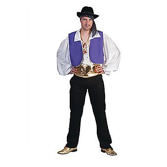 Gypsy King, Artist Men's Costume Gaukler Gypsy Men's Costume