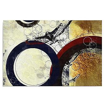 Canvas, Picture on canvas, Abstract wheels