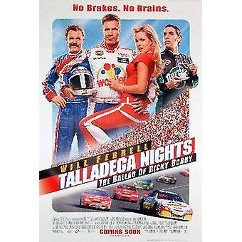 Talladega Nights: The Ballad Of Ricky Bobby (Ds Reg B) Original Cinema Poster