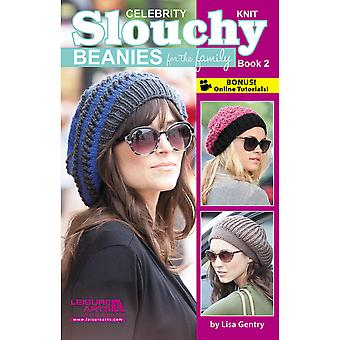 Leisure Arts Slouchy Beanies For The Family Book 2 La 75477