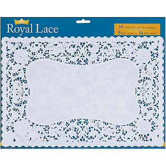 French Lace Paper Doilies 9.75
