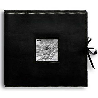 Sewn Leatherette D Ring Scrapbook Box 13