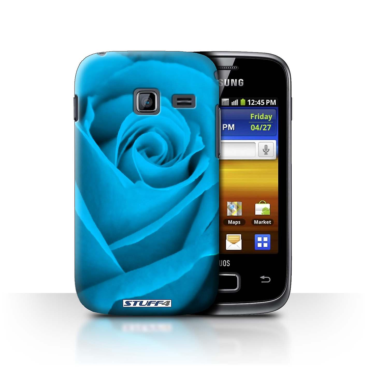STUFF4 Case/Cover for Samsung Galaxy Y Duos/S6102/Blue/Rose