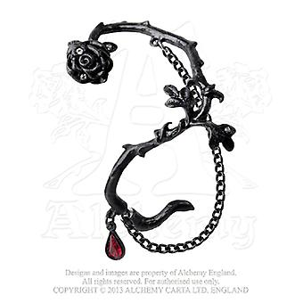 Alchemy Gothic Rose of Passion Single Earring