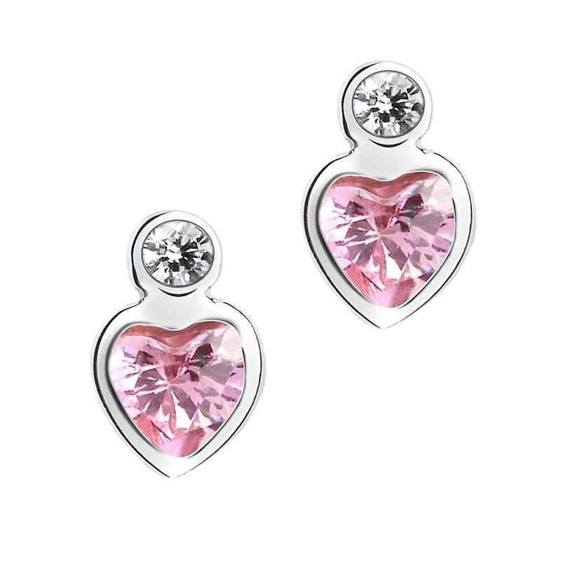 Princess Lillifee children kids earrings silver heart PLF5/9 - 9062584