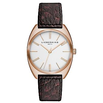 LIEBESKIND BERLIN ladies watch wristwatch leather LT-0014-LQ
