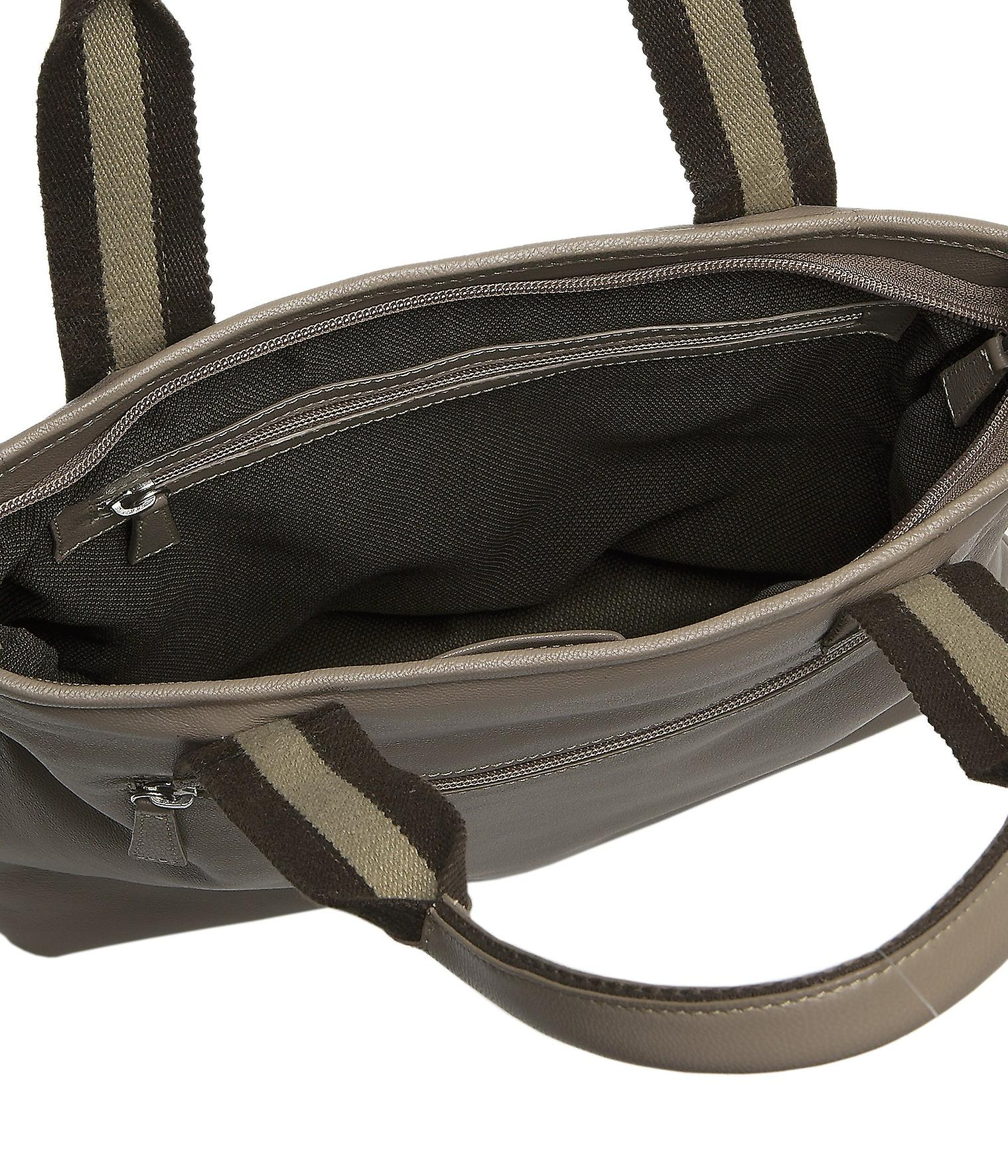 Burgmeister ladies bag T208-115B leather taupe