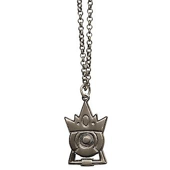 Portal 2 Silver Plated Stalemate Pendant Necklace
