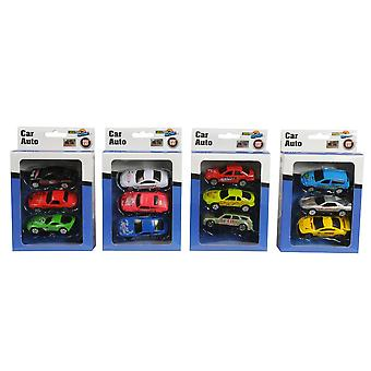 Car Diecast Scale 1:87 MT Set of 3 Kids Play Toys