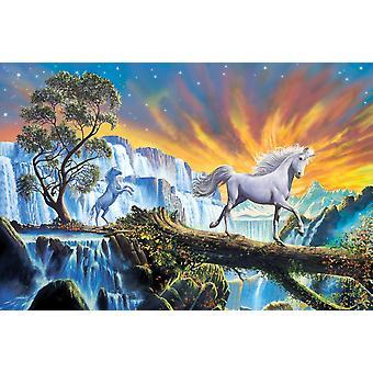 Prins af bjergene plakat Print af Steve Crisp