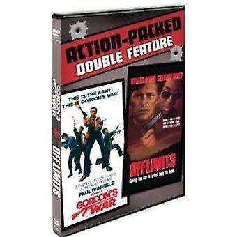 Gordon's War/Off grænser [DVD] USA importerer
