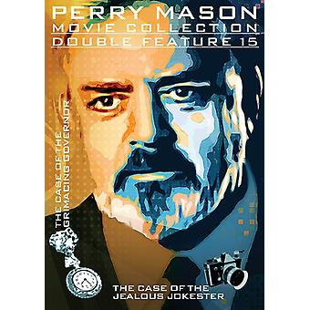 Perry Mason: Case of the Grimacing Governor [DVD] USA import