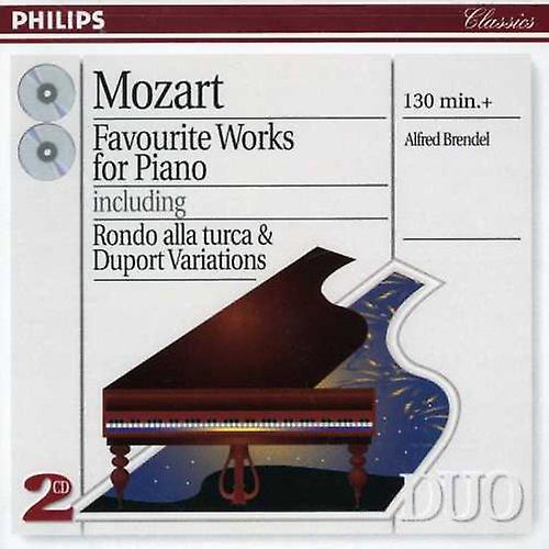 Alfred Brendel - Mozart: Favourite Works for Piano [CD] USA import