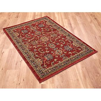 Ziegler 347 Rectangle rouge tapis couvertures traditionnelles