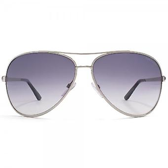 Tom Ford Charles Aviator Sunglasses Silver