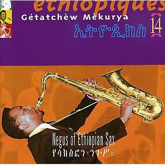 Getatchew Mekurya - Getatchew Mekurya: Vol. 14-Ethiopiques: Negus af Ethipoian Sax [CD] USA import
