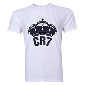 Cristiano Ronaldo CR7 Real Madrid T-shirt (Wit)