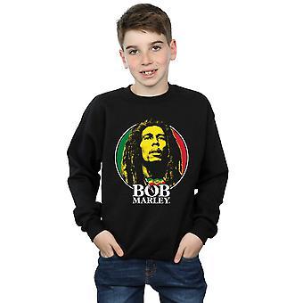 Bob Marley Boys Logo Badge Sweatshirt