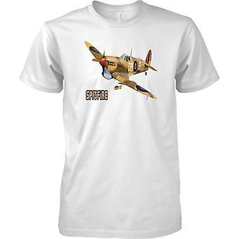 Supermarine Spitfire - Wüste CamoFlage - WW2-Fighter - Herren-T-Shirt