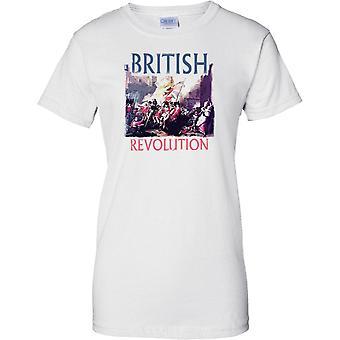 Britiske Revolution - militær inspireret - damer T Shirt