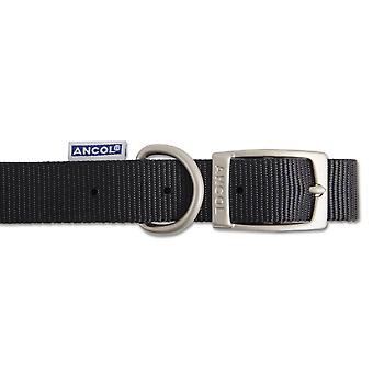 Ancol Pet Products Heritage Buckle Fasten Weatherproof Dog Collar