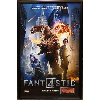 Fantastic Four - Signed Movie Poster