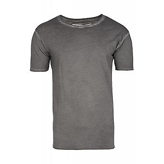 JUNK YARD Julius style shirt mens T-Shirt grey in the simple