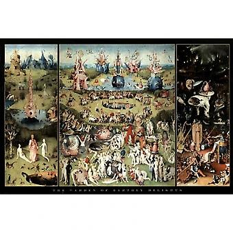 Hieronymus Bosch Delights Garden Of Earthly Delights Poster Poster Print