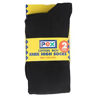 Girls PEX Graduate Knee High Socks