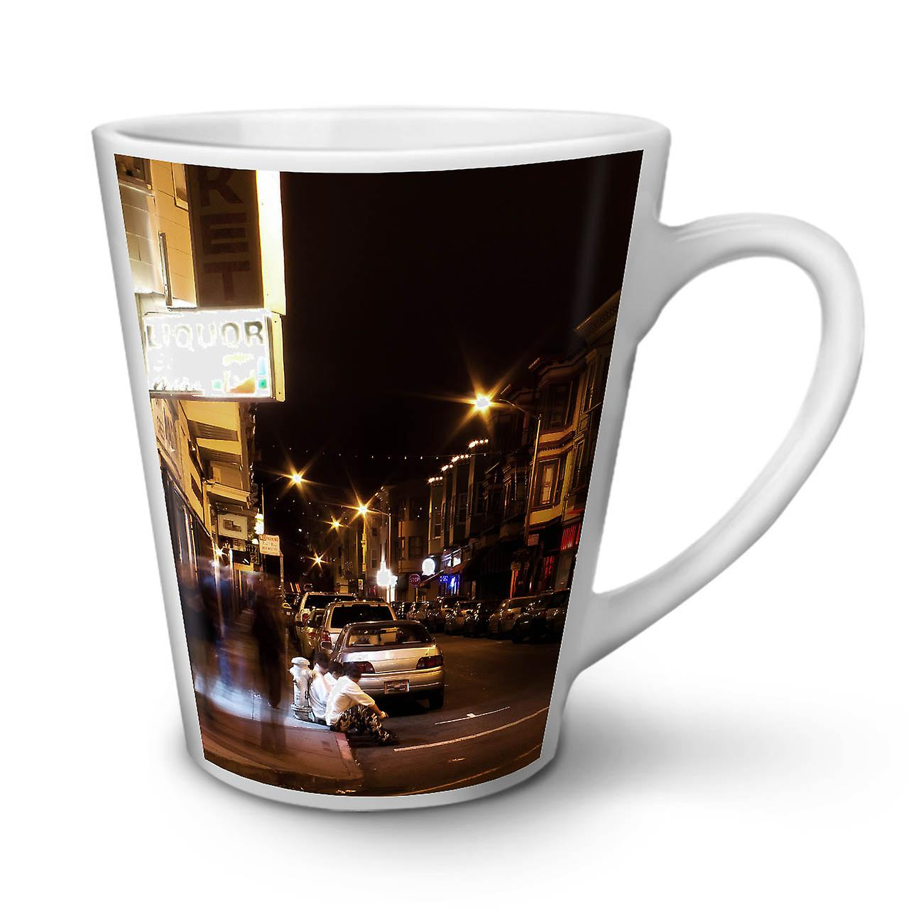 Life Mug Café Night Nouveau Thé City Latte En Céramique Blanc 12 OzWellcoda Street 1JlcuF3KT