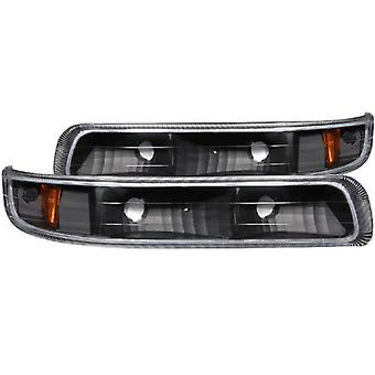 AnzoUSA 511065 Parking Light for Chevrolet Silverado - (Sold in Pairs)